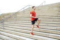 Imagen sobre el tema del entrenamiento de escaleras.