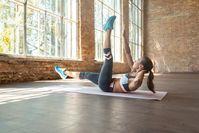 Imagen sobre el tema del entrenamiento abdominal de Pamela Reif