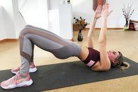 Imagen sobre el tema de Lea Light muestra 20 minutos de entrenamiento con el peso corporal