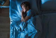 Imagen sobre el tema del hombre dormido
