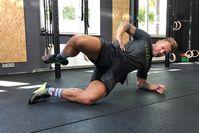 Imagen sobre el tema Crossfit Workout: 24 min de entrenamiento de cuerpo completo con ejercicios de sujeción para el hogar