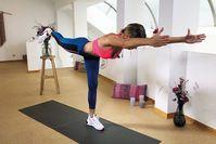 Imagen sobre el tema Entrenamiento de yoga HIIT de 12 minutos: entrenamiento dinámico con LeaLight