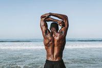 Imagen sobre el tema de la espalda muscular.