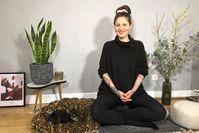 Imagen sobre el tema de la meditación para principiantes: su comienzo en una vida más consciente