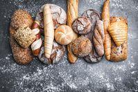 Imagen sobre el tema de los diferentes tipos de pan y bollos.