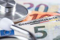 Imagen sobre el tema de la tarjeta de seguro médico.