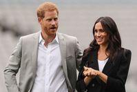 Imagen sobre el tema del Príncipe Harry con la Duquesa Meghan