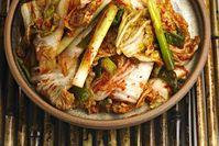 Imagen sobre el tema del kimchi coreano.