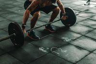 Imagen sobre el tema del levantamiento de pesas.