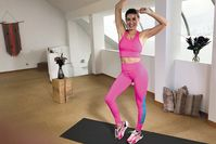 Imagen sobre el tema del entrenamiento de baile pop de los 80: el calentamiento con garantía de buen humor