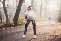 Imagen sobre el tema de la mujer haciendo ejercicio